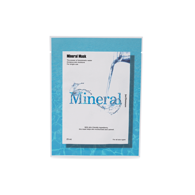 Maska s vysokým obsahem minerálů