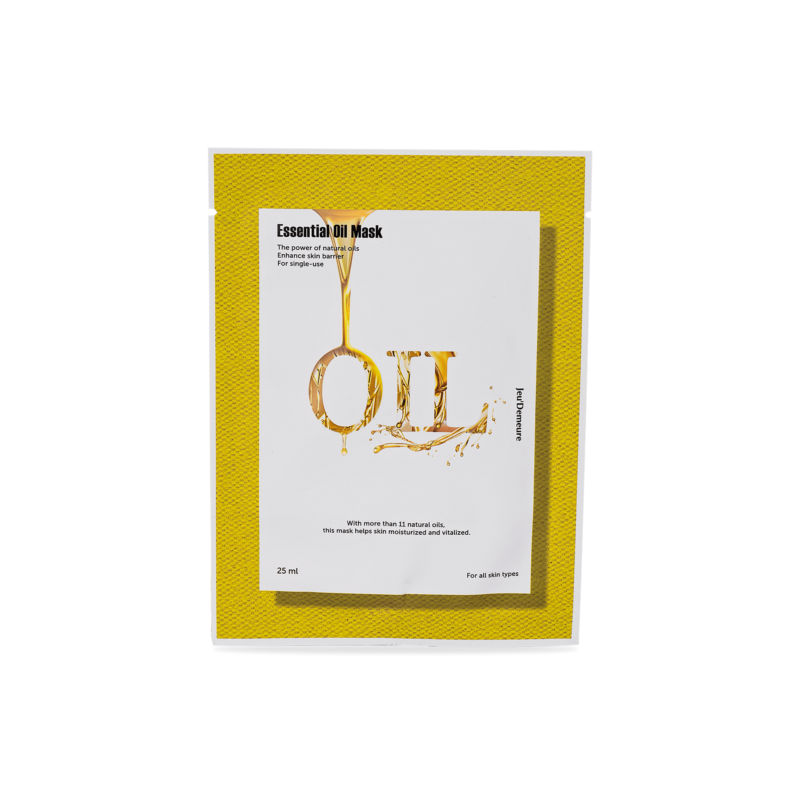 Pleťová maska s esenciálními oleji
